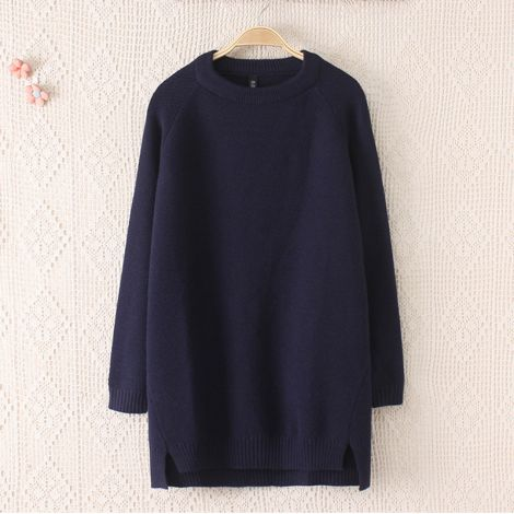Women's Sweater Tunic Tops Long Sleeve Knit Pullovers