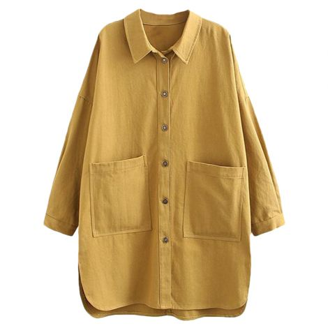 Women's Cotton Jacket Blouse Button Down Shirts